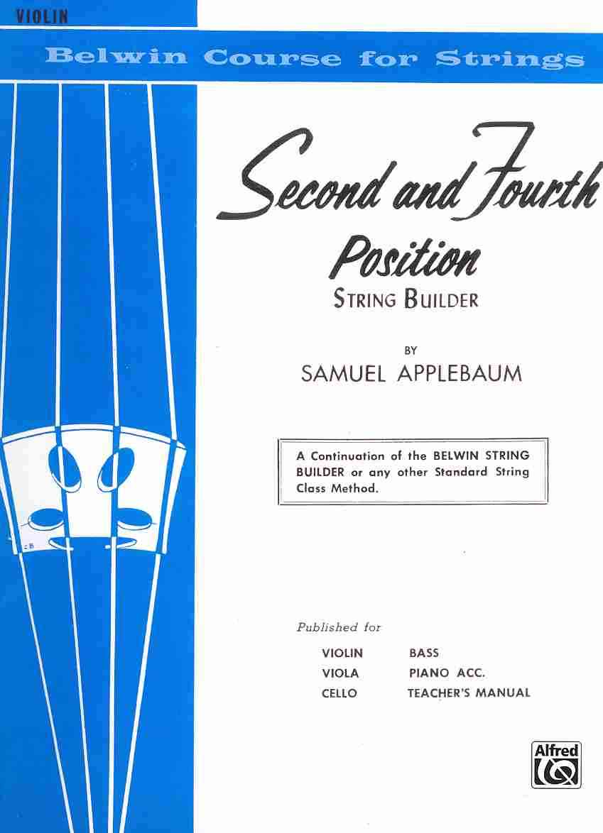 Second and Fourth Position String Builder By Applebaum, Samuel